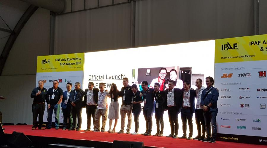 IPAF Safety Film Launch, IPAF Asia Conference 2018