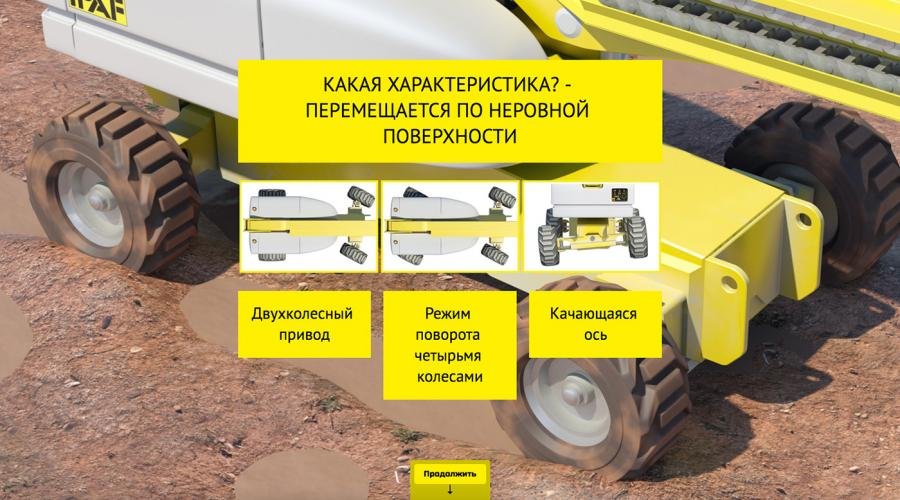 IPAF MEWP operator training now available in Russian.
